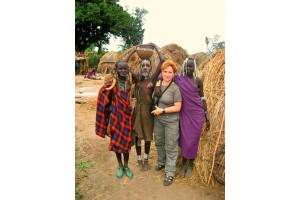 Путешествие белой обезьяны (Эфиопия) .День  двенадцатый . Мурси.