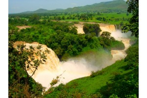 Путешествие белой обезьяны (Эфиопия). День второй. Водопады и монастыри