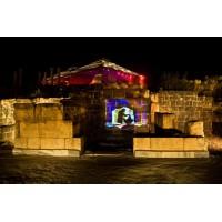 Симфония ночи. Свето- музыкальное шоу в Бейт Шаане . Незнакомый  знакомый Израиль. Маршрут 13