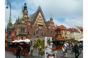 Польша. День первый - Вроцлав, город гномов