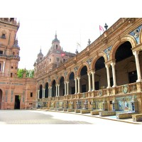 Мадрид, включая музей Прадо и Алькала-де-Энарес. Натур